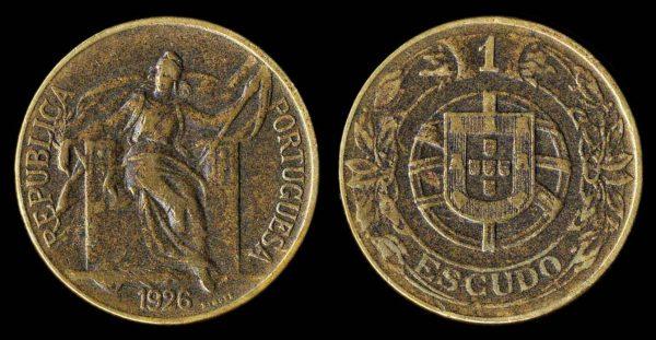 PORTUGAL 1 escudo 1926