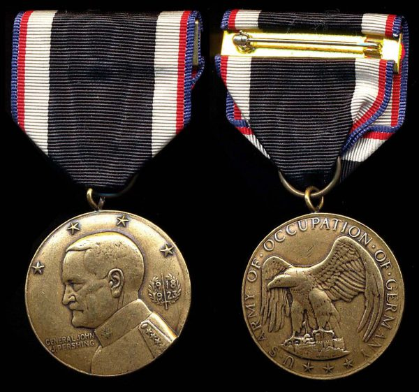 USA Army of Occupation medal  1918-1923