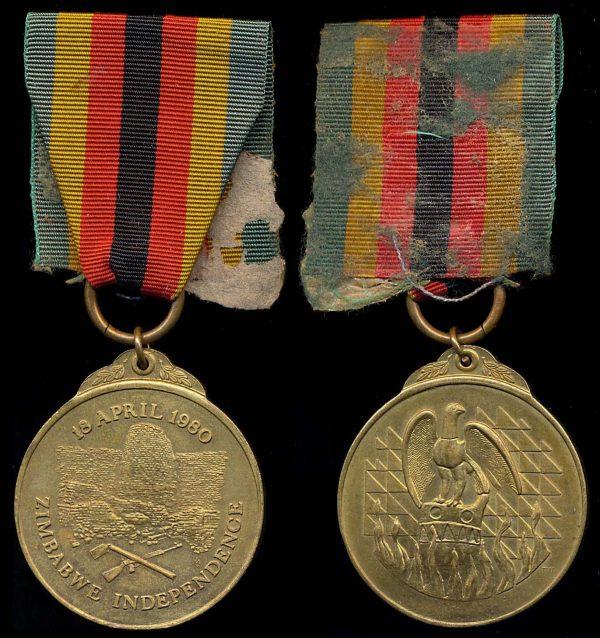 ZIMBABWE Independence Medal 1980