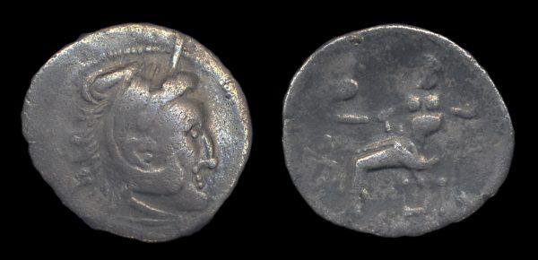DANUBIAN CELTS, silver drachm, (3-2nd century BC)