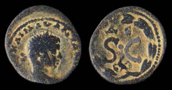 SELEUCIS & PIERIA, ANTIOCH, Elagabalus, 218-222 AD, bronze minor