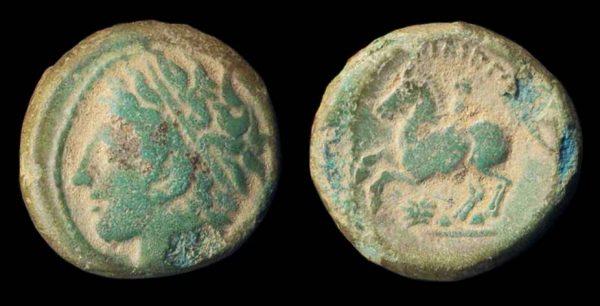 MAKEDONIAN KINGDOM, Philip II, 359-336 BC, bronze minor