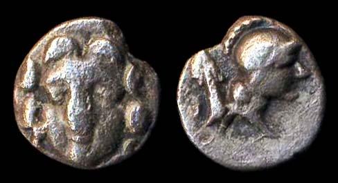 SELGE, silver obol, (3rd century BC)