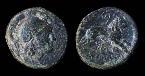 THRACIAN KINGDOM, Lysimachos, 323-281 BC, bronze minor