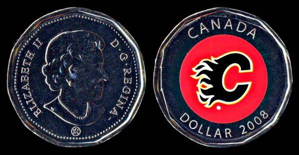 CANADA 1 dollar 2008