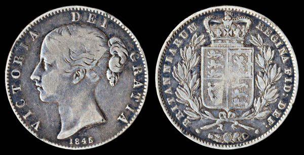 GREAT BRITAIN 1 crown 1845