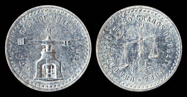 MEXICO silver onza 1949