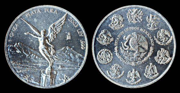 MEXICO silver onza 2003
