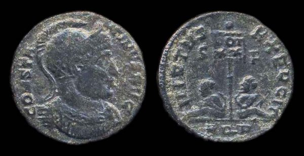 ROMAN EMPIRE, Constantine I, 307-337 AD, centenionalis, Aquileia mint