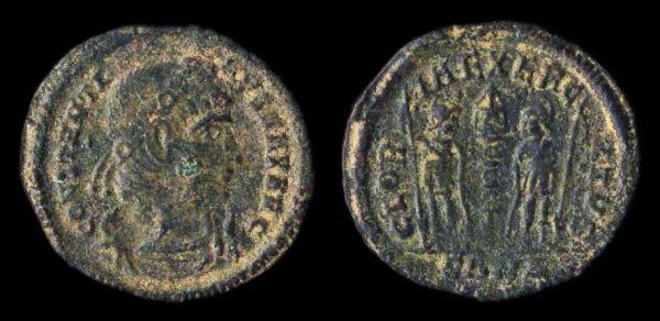 ROMAN EMPIRE, Constantius II, 337-361 AD, reduced centenionalis, Nicomedia mint