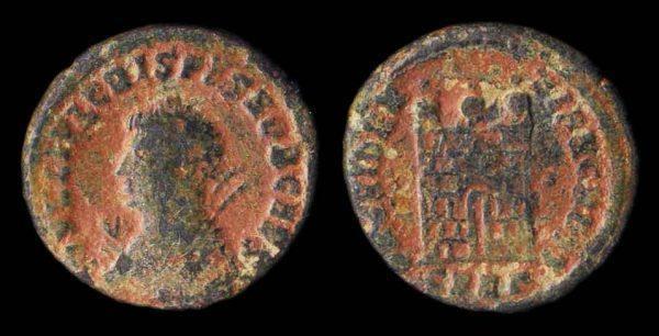ROMAN EMPIRE, Crispus, 317-326 AD, centenionalis, Nicomedia mint