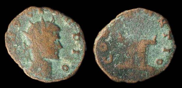 ROMAN EMPIRE, Divus Claudius II, antoninianius