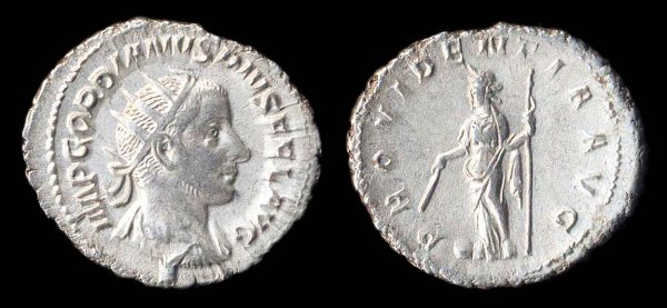ROMAN EMPIRE, Gordian III, 238-244 AD, antoninianius