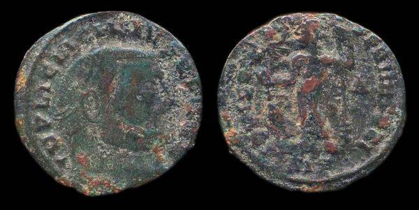 ROMAN EMPIRE, Licinius I, 308-324 AD, follis, Siscia mint