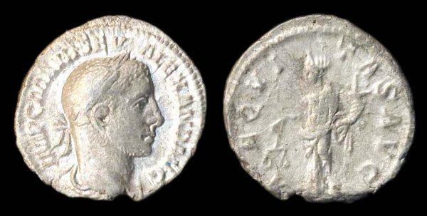 ROMAN EMPIRE, Severus Alexander, 222-235 AD, denarius