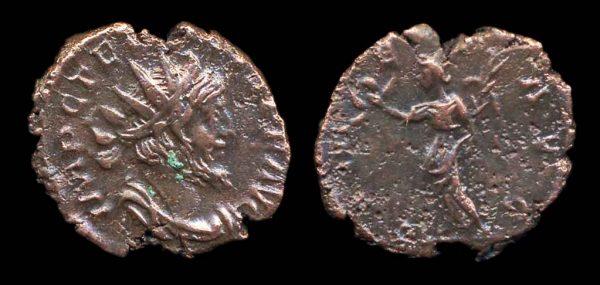 ROMAN EMPIRE, Tetricus I, 270-273 AD, antoninianius