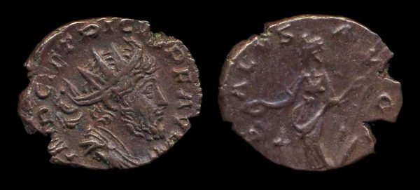 ROMAN EMPIRE, Tetricus II, 274 AD, antoninianius