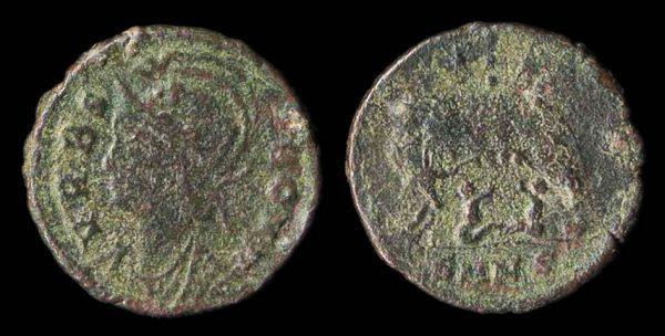 ROMAN EMPIRE, c. 330-346 AD, reduced centenionalis, Nicomedia mint