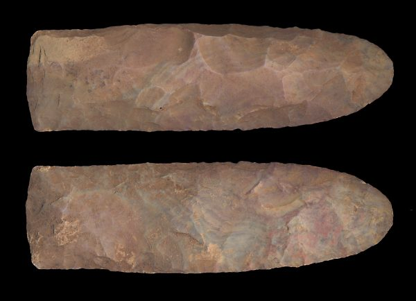 WEST AFRICAN NEOLITHIC FLINT DOUBLE EDGED BLADE