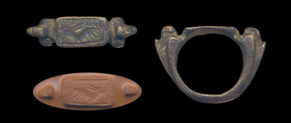 BAKTRIAN? bronze seal circa 1000-300 BC