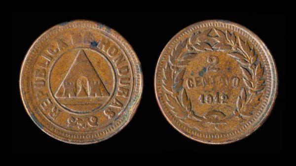 HONDURAS 2 centavos 1912