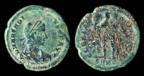 ROMAN EMPIRE Arcadius 383-408 AD maiorina Cyzicus