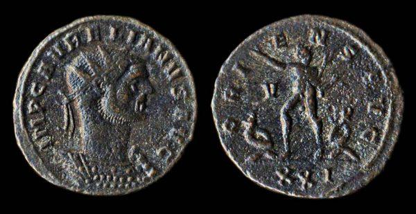 ROMAN EMPIRE Aurelian 270-275 AD antoninianius