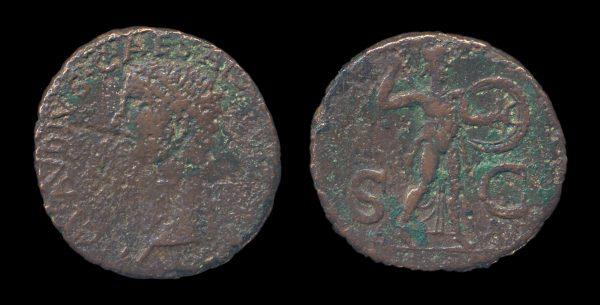 ROMAN EMPIRE Claudius I 41-54 AD bronze as