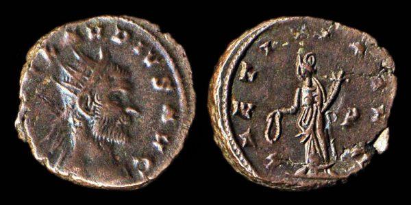 ROMAN EMPIRE Claudius II 268-270 AD antoninianius