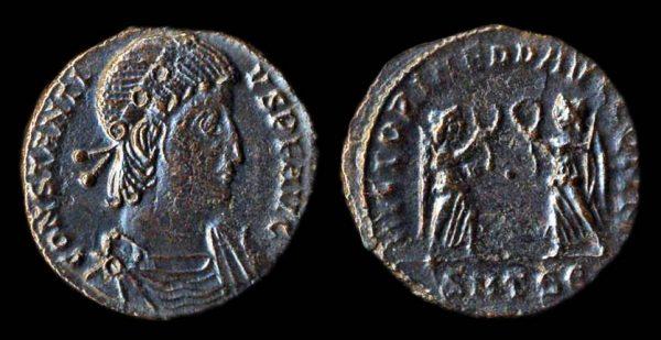 ROMAN EMPIRE Constantius II 337-361 AD half centenionalis Thessalonika mint