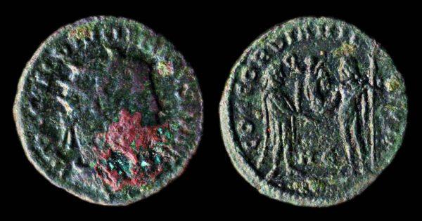 ROMAN EMPIRE Diocletian 284-305 AD antoninianius