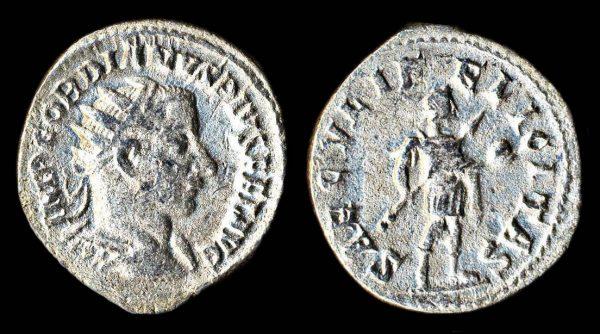ROMAN EMPIRE Gordian III 238-244 AD antoninianius