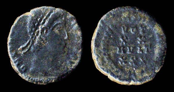 ROMAN EMPIRE Gratian 367-383 AD centenionalis