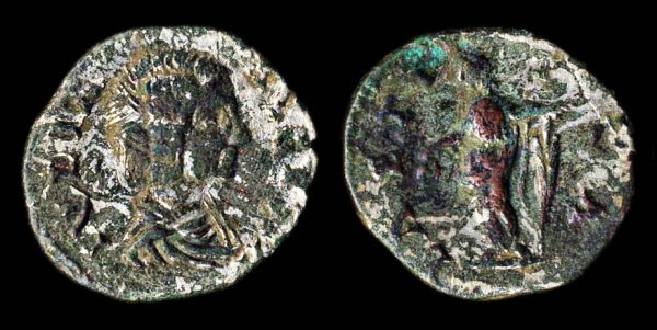 ROMAN EMPIRE Julia Domna 193-211 AD denarius Dacian imitation