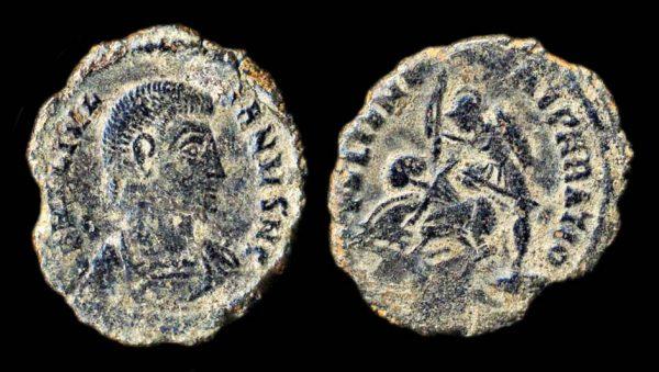 ROMAN EMPIRE Julian II Caesar 335-360 AD centenionalis