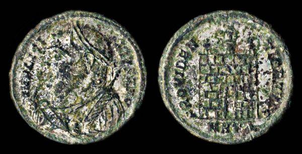 ROMAN EMPIRE Licinius I 308-324 AD follis Heraclea