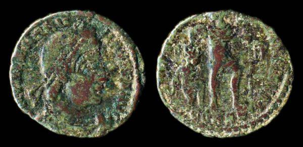 ROMAN EMPIRE Valentinian I 364-375 AD centenionalis