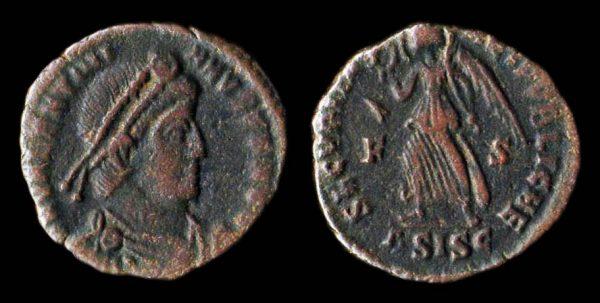 ROMAN EMPIRE Valentinian I 364-375 AD centenionalis Siscia