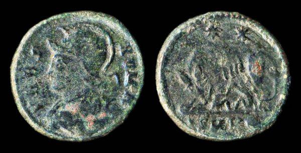 ROMAN EMPIRE VRBS ROMA coin Heraclea mint