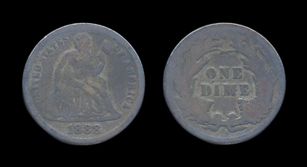 USA 10 cents 1888