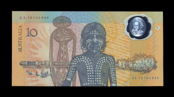 Australia-10-dollars-1988-back