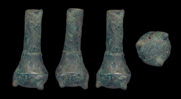 ANCIENT CHINESE BRONZE PERFUME BOTTLE