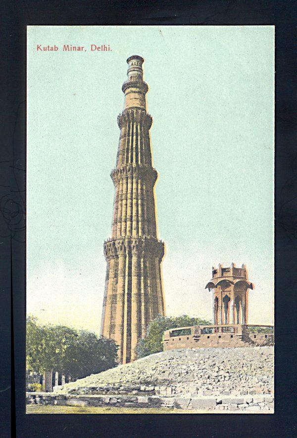 INDIA postcard 1907-12