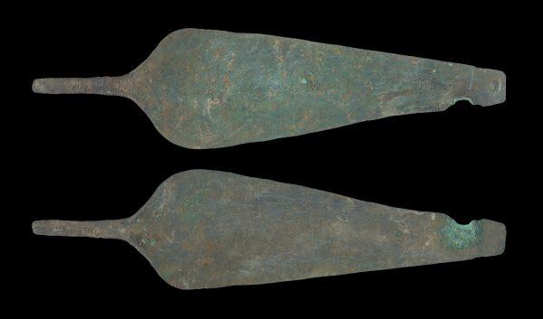 ANCIENT KUSHAN BRONZE BLADE