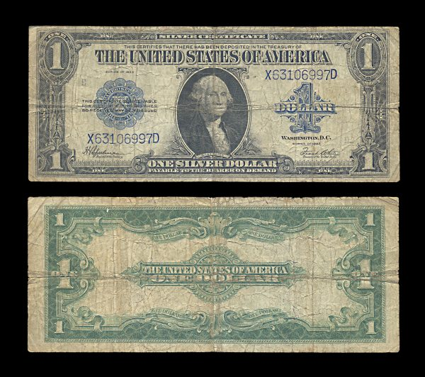 USA Silver Certificate 1 dollar 1923